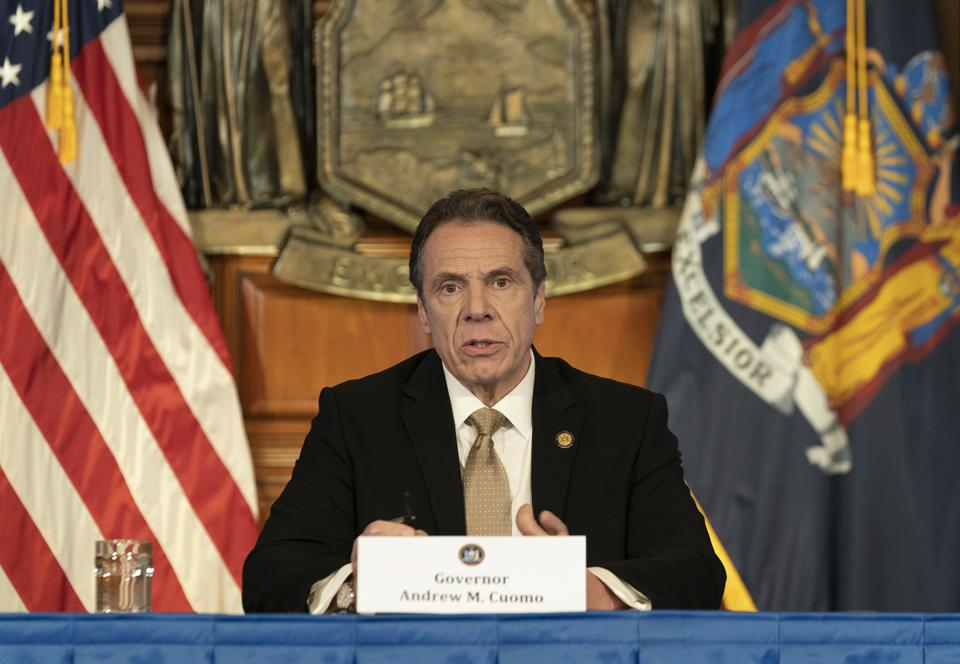New York leads in government tax and fee revenue increases.