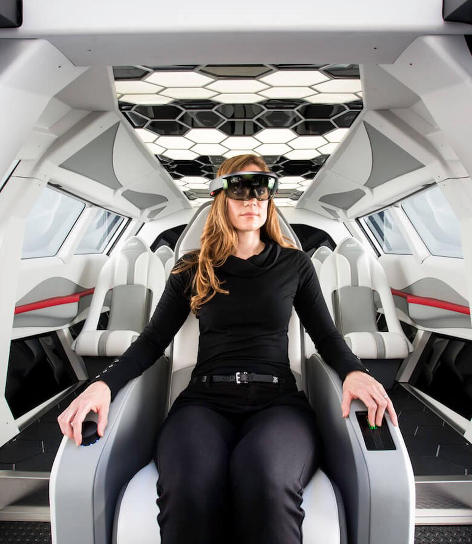 Virtual future helicopter cockpit