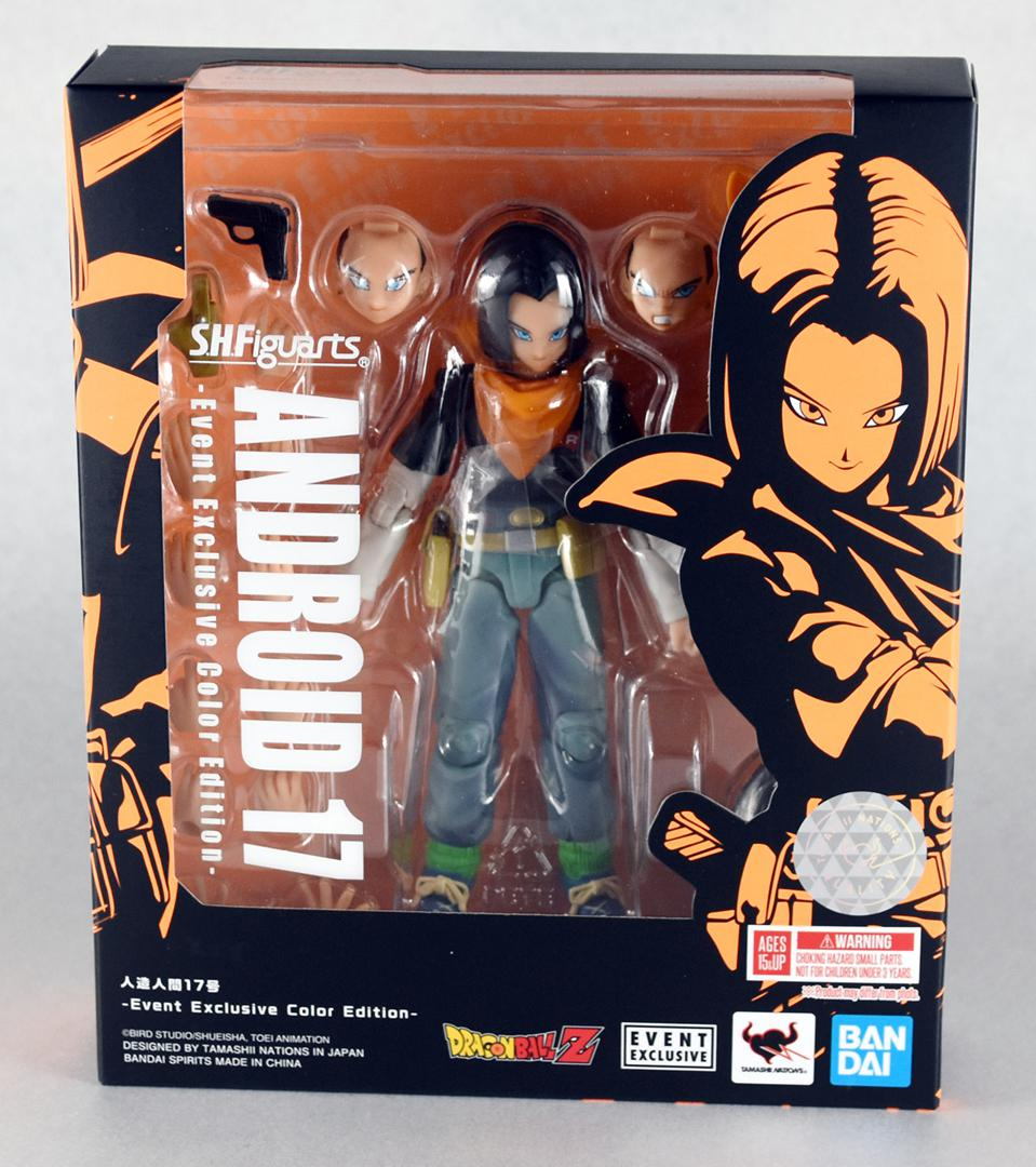 SHFiguarts ANDROID 17 -Event Exclusive Color Edition-