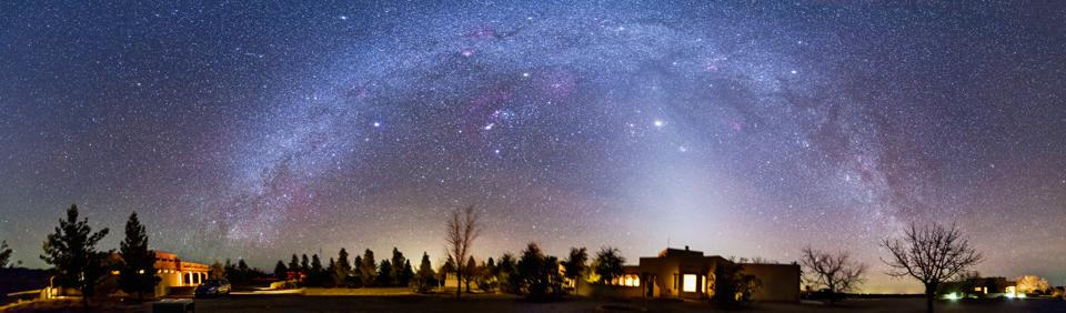 The winter Milky Way and Zodiacal Light