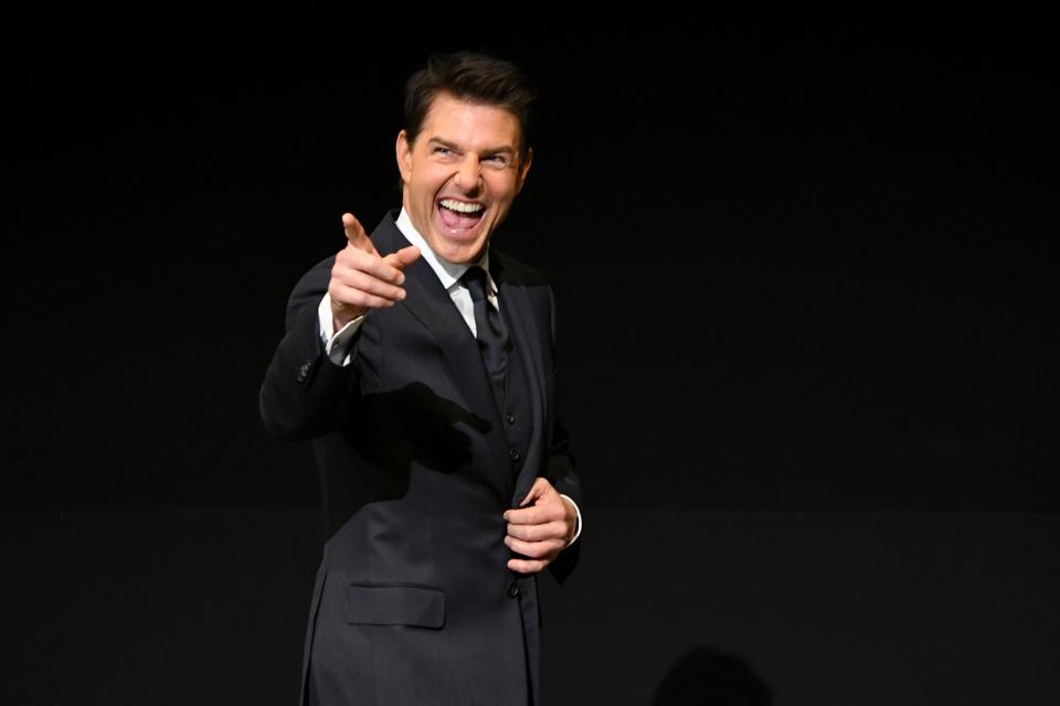 Tom Cruise onstage during the 10th Annual Lumiere Awards