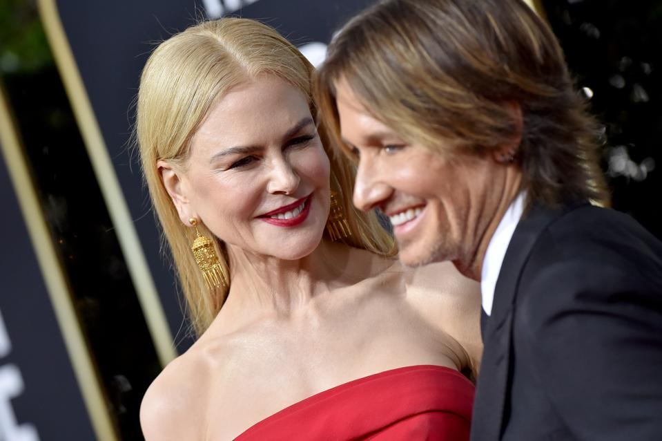 Celebrity Australian couple, actress Nicole Kidman and  country music singer Keith Urban