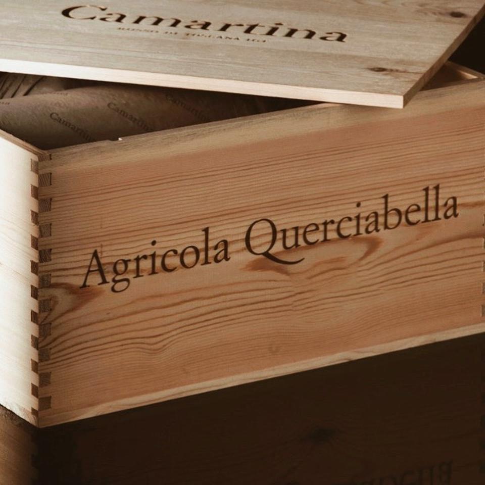 Wooden Case of Querciabella 'Camartina'