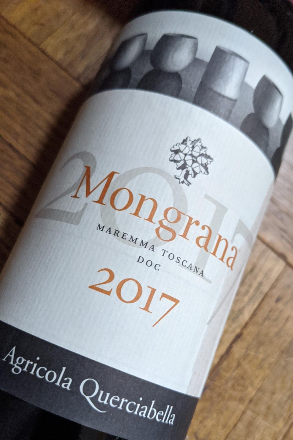 2017 Querciabella 'Mongrana' from Maremma, Tuscany