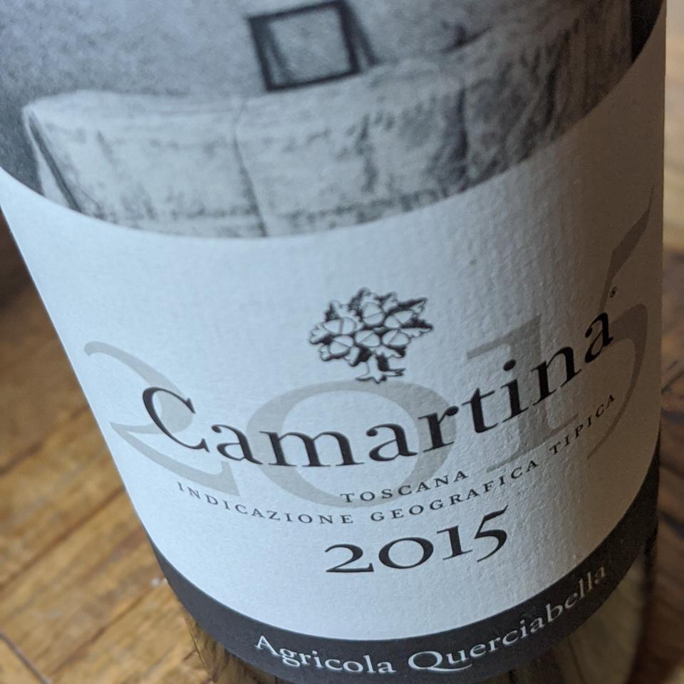 2015 Querciabella 'Camartina' from Tuscany
