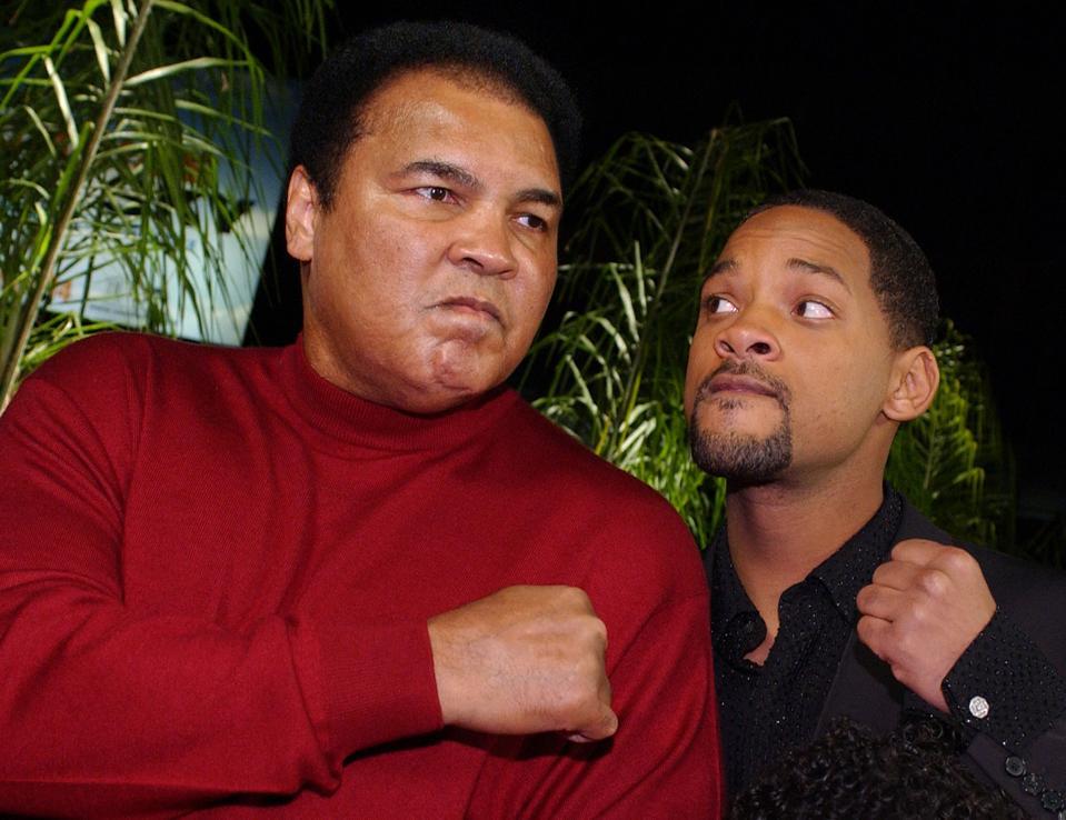 US former world heavyweight boxing champion Muhamm