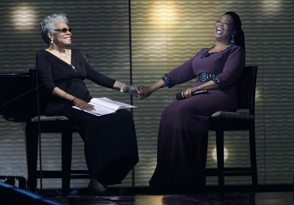 Oprah Winfrey, a role model to many, has the unique ability to connect with people from all walks of life.