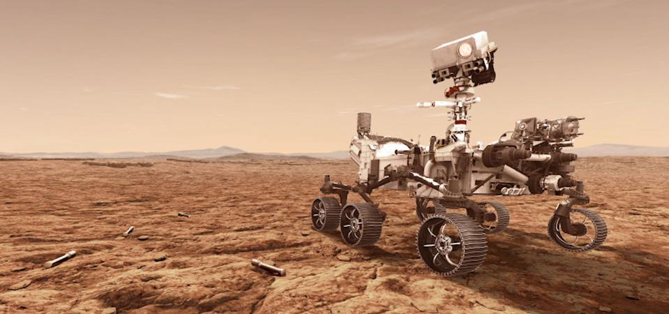 NASA's Mars 2020 Perseverance rover.