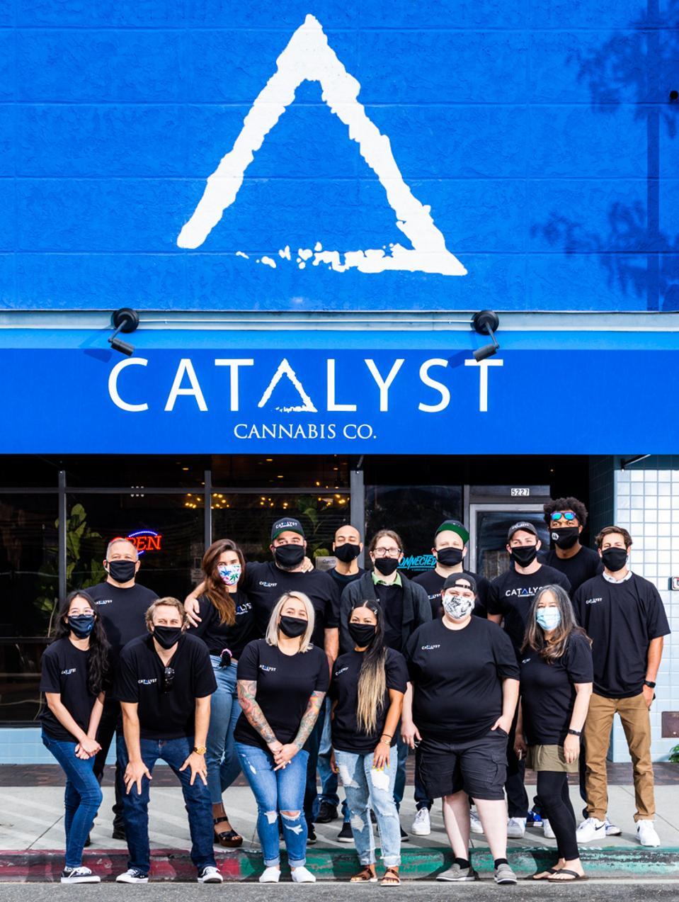 Crew at Catalyst