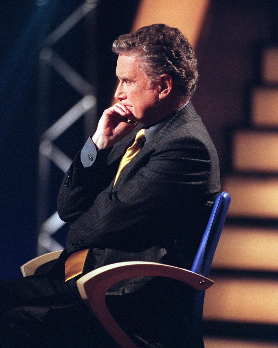 Who Wants To Be A Millionaire The Program With Popular Host Regis Philbin