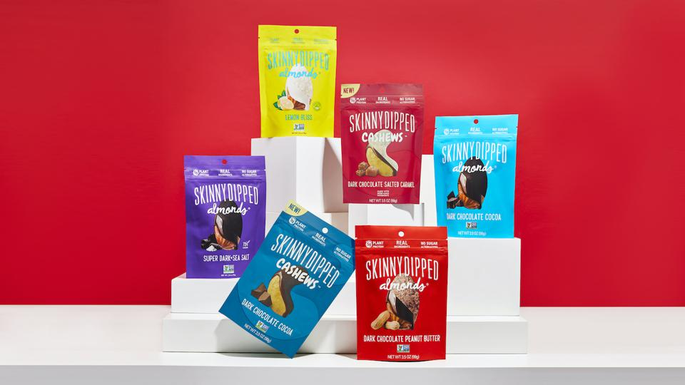 SkinnyDipped is a Seattle-based nut snacks company.
