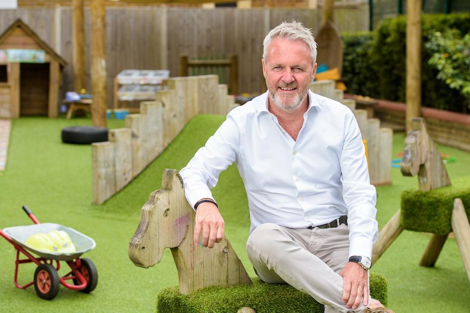 Tech entrepreneur-turned nursery operator Steven Fenn
