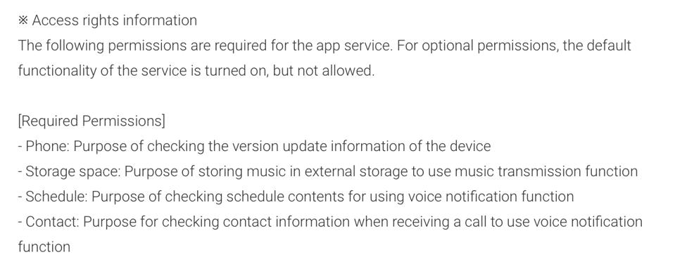 Details from the Google Play Store listing for the Galaxy Buds Live companion app.