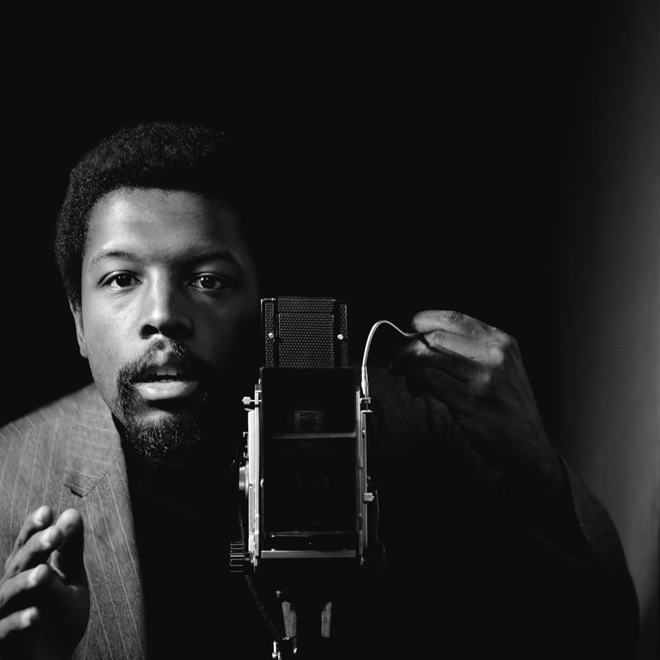 Kwame Brathwaite, ″Self- portrait,″ African Jazz-Art Society & Studios (AJASS), Harlem, ca. 1964; from Kwame Brathwaite:Black Is Beautiful (Aperture, 2019) .