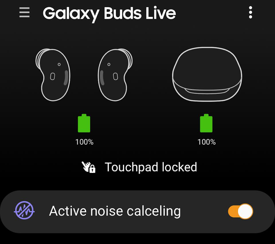 Galaxy Buds Live confirmed to feature noise-canceling.