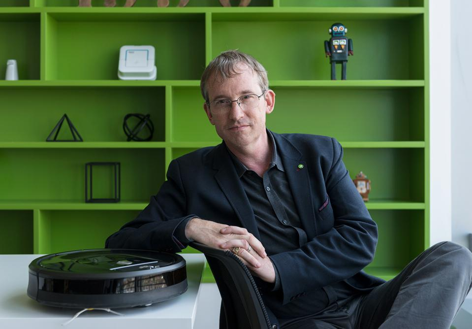 Colin Angle, Chairman, CEO and Founder of iRobot