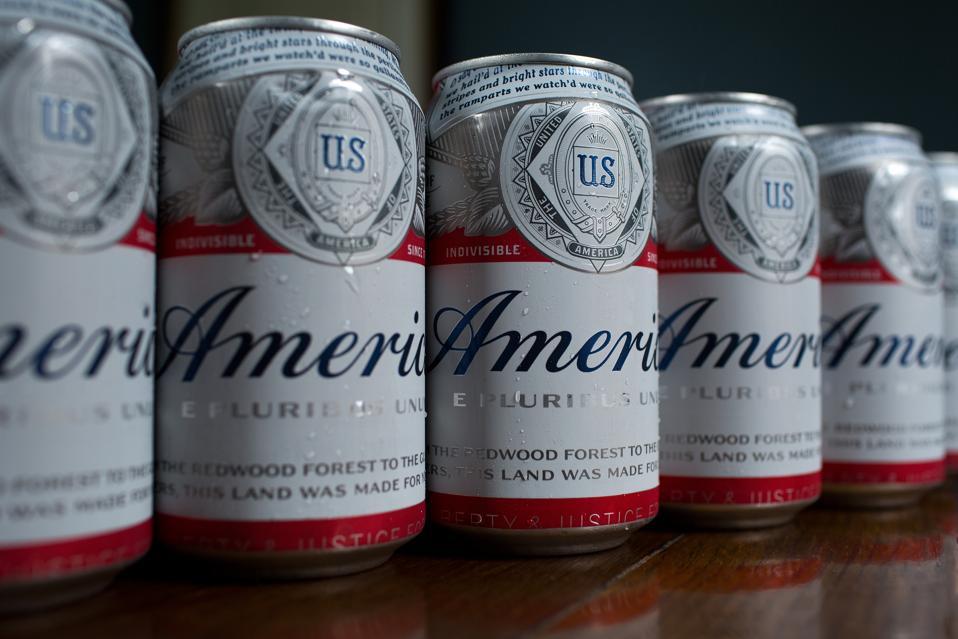 Budweiser Temporarily Renames Flagship Beer 'America'