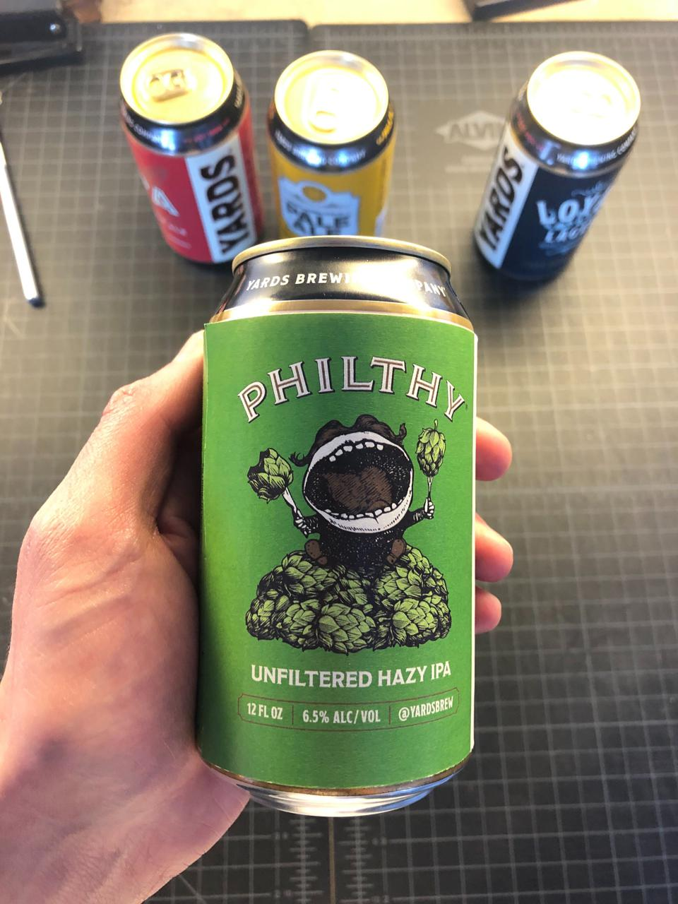 Philthy, an unfiltered hazy IPA, was successfully launched during the pandemic.
