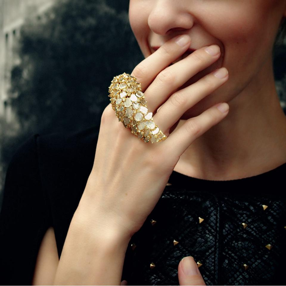 Celebrity Fashion: Award-Successful 'Empower Ring' by L' Dezen