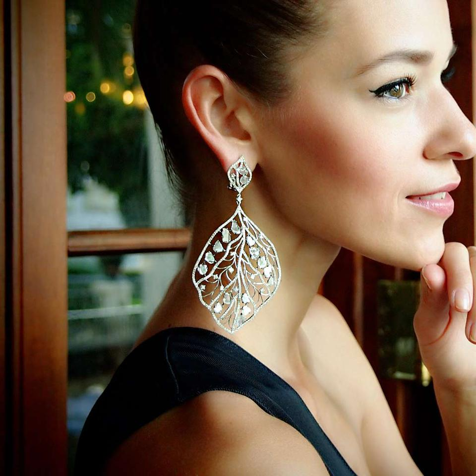 Celebrity Fashion: Artistrio Earrings by L' Dezen