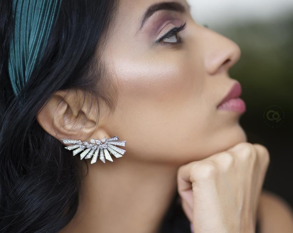 Celebrity Fashion:  Artistrio Earrings by L' Dezen -