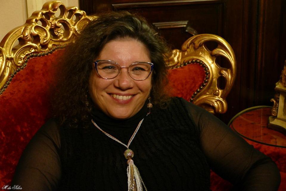 Monica Cesarato, local food-blogger and founder of the Anima Veneziana project.
