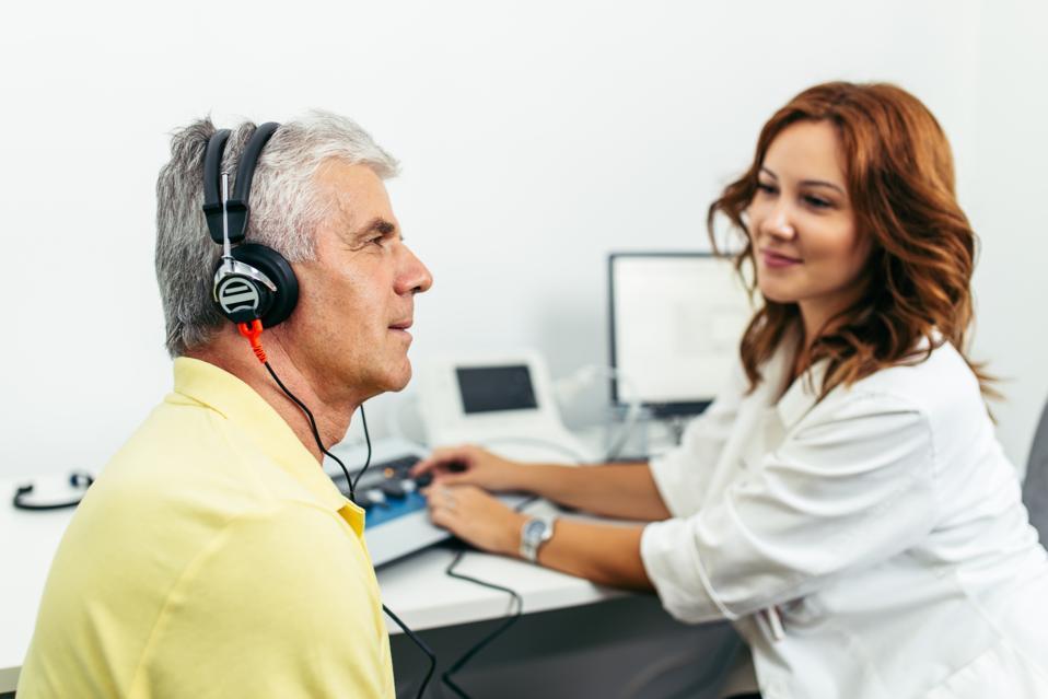Medical hearing examination