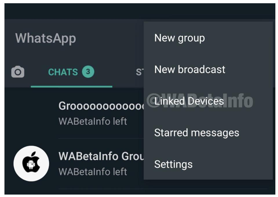 WhatsApp ″ Dispositivi collegati ″