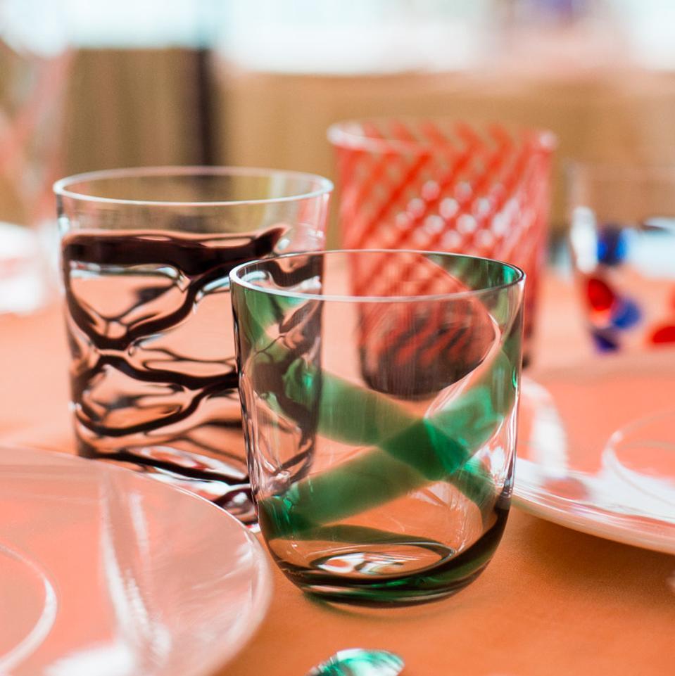 Beautiful glasses from Grand Hotel Tremezzo