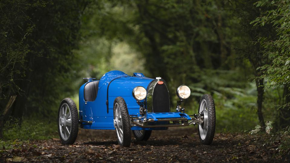 The battery-powered Baby Bugatti II is the least expensive Bugatti, but it costs more than many real cars.