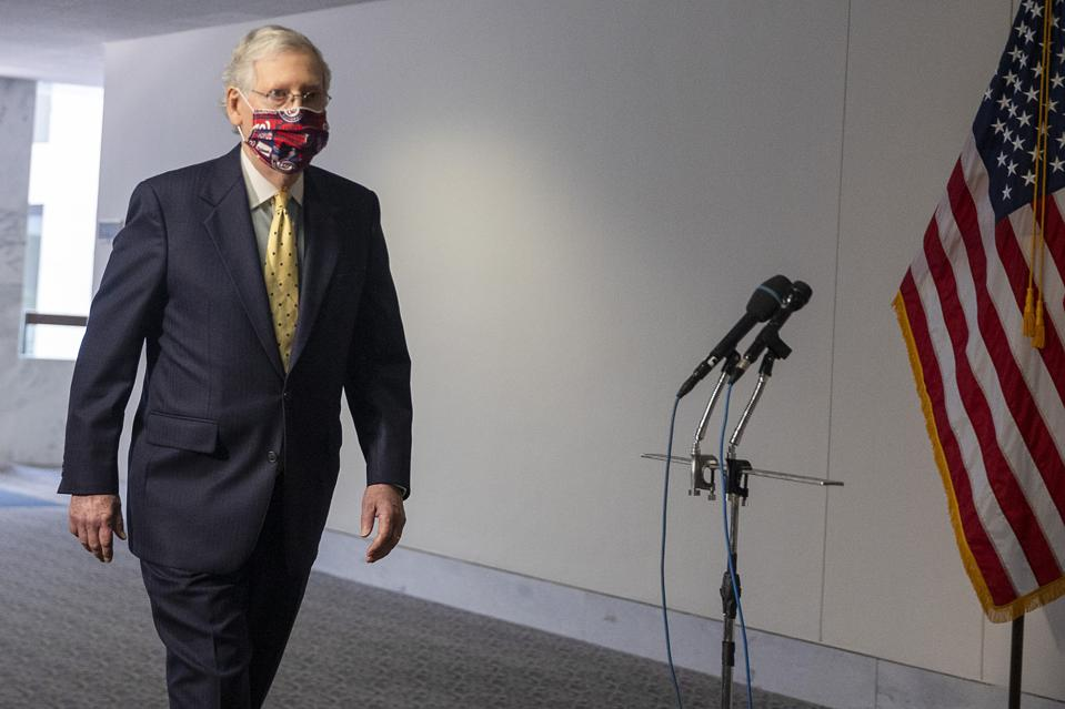 Senate Majority Leader Mitch McConnell has promised another round of stimulus payments.
