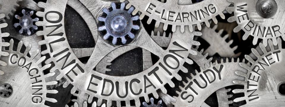 e-learning and webinars are two tools for online learning.