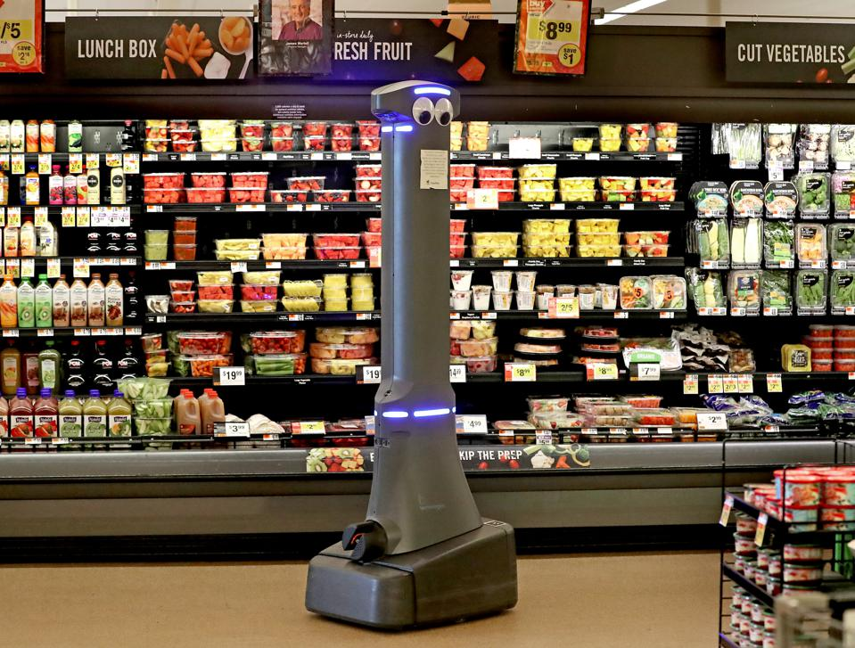 Retail Turns More And More To Machines