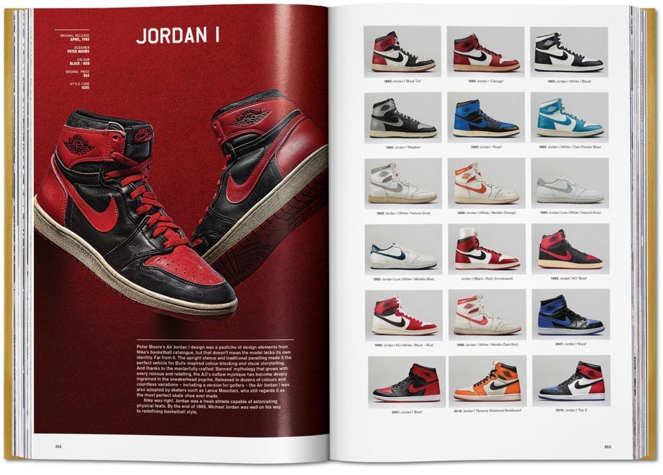 Le livre de baskets ultime