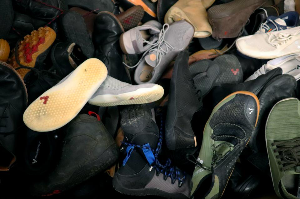 Vivobarefoot has launched ReVivo to recondition worn shoes
