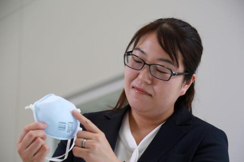 Nonaka Maki, Manager of Life Safety Division at Koken