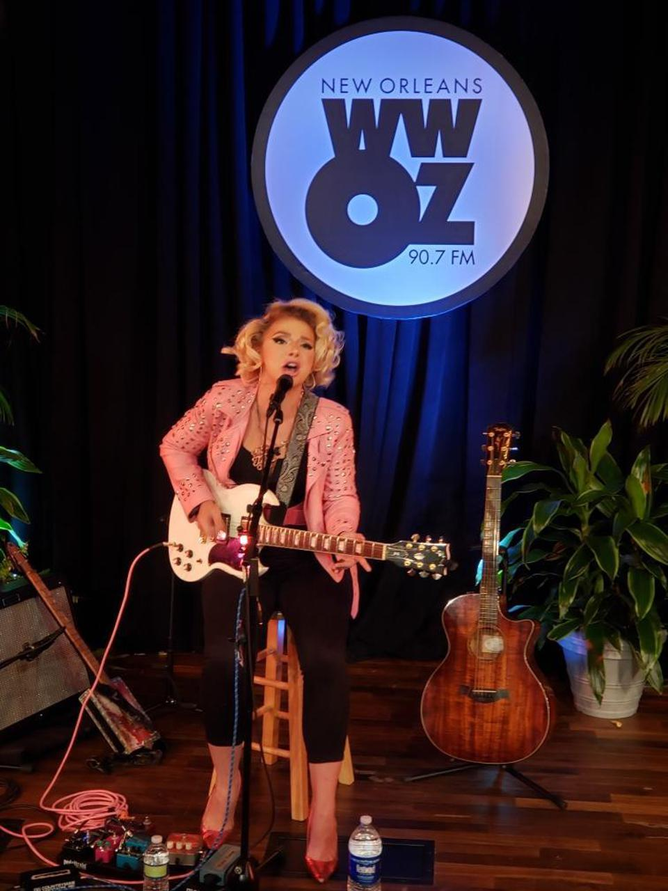 Samantha Fish on stage