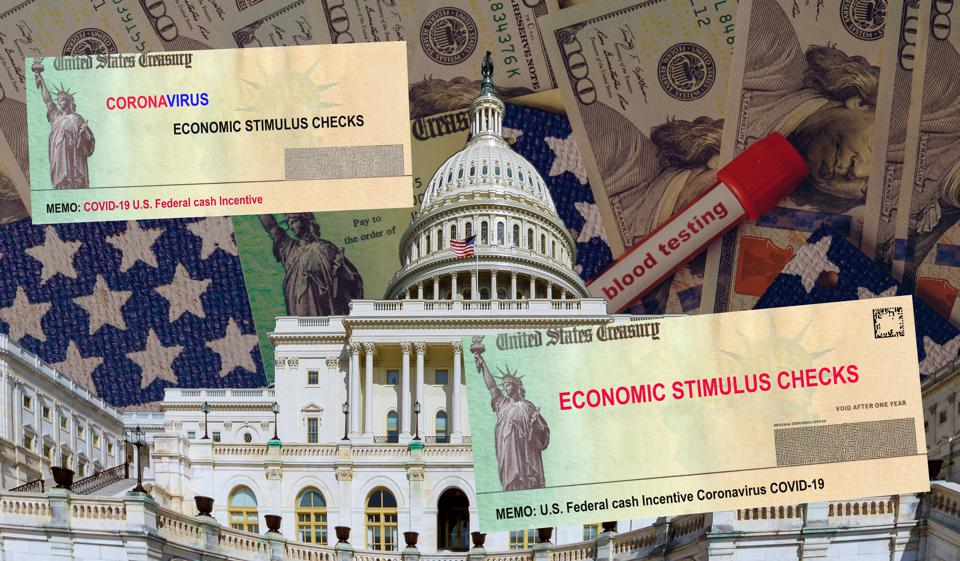 Americans senate receive emergency senate government stimulus financial assistance to Word COVID-19 on global pandemic lockdown package relief package