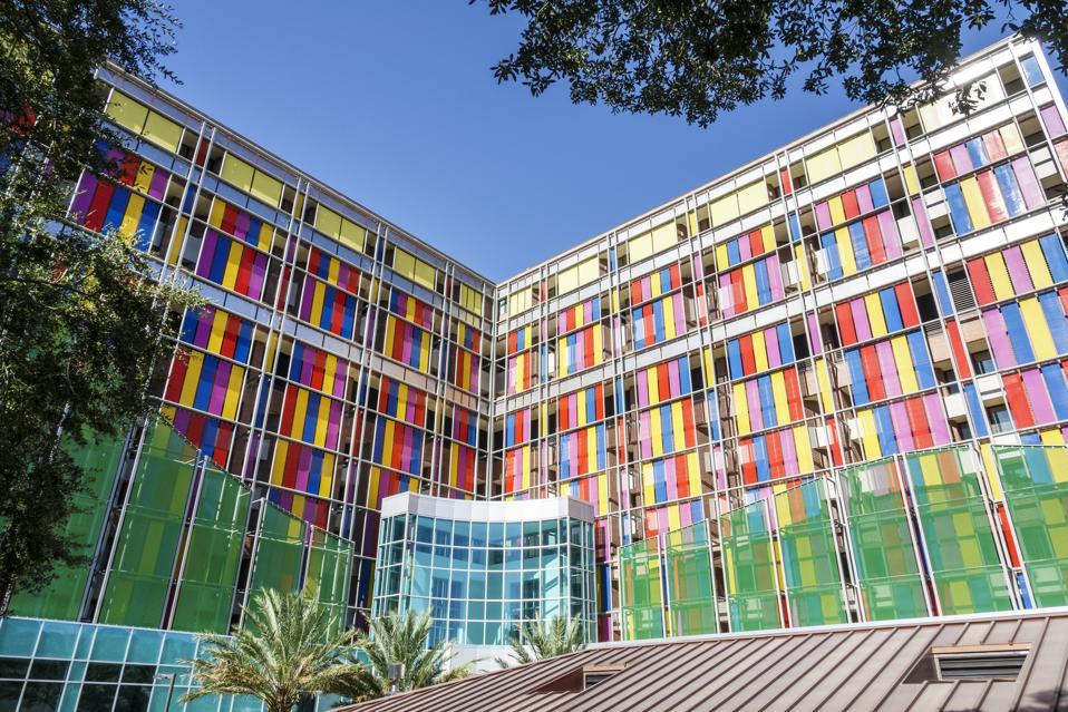 Gainesville, University of Florida, Health Shands Children's Hospital exterior