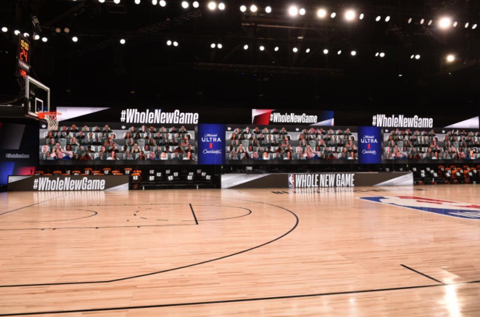 NBA Orlando restart