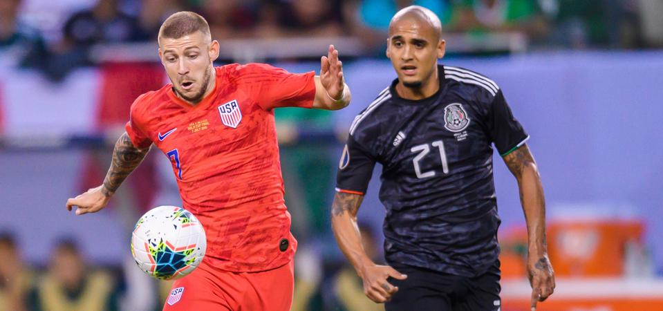 SOCCER: JUL 07 CONCACAF Gold Cup Finals - USA v Mexico