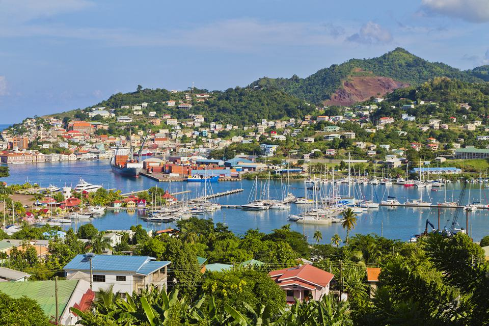 St. George's Harbor, Grenada citizenship second passport