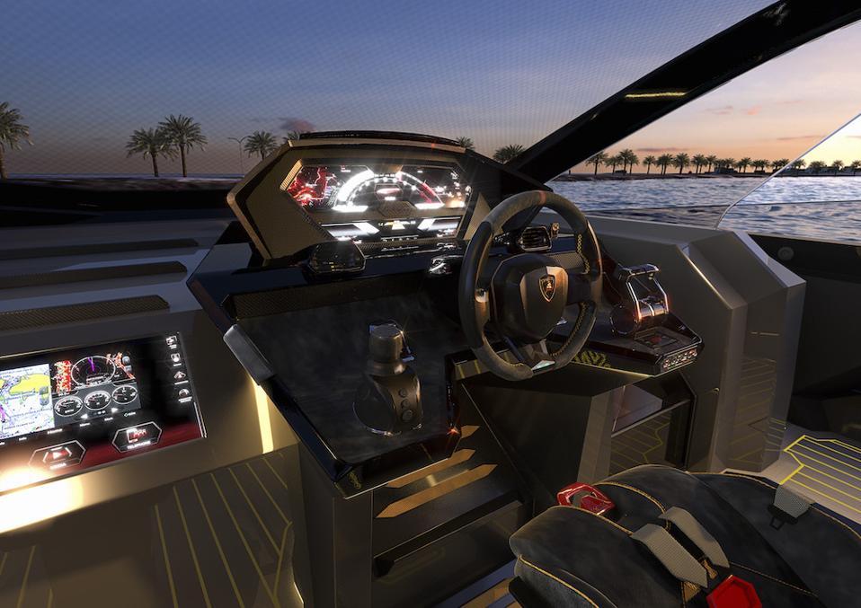 Tecnomar for Lamborghini 63 is a limited-edition motor yacht