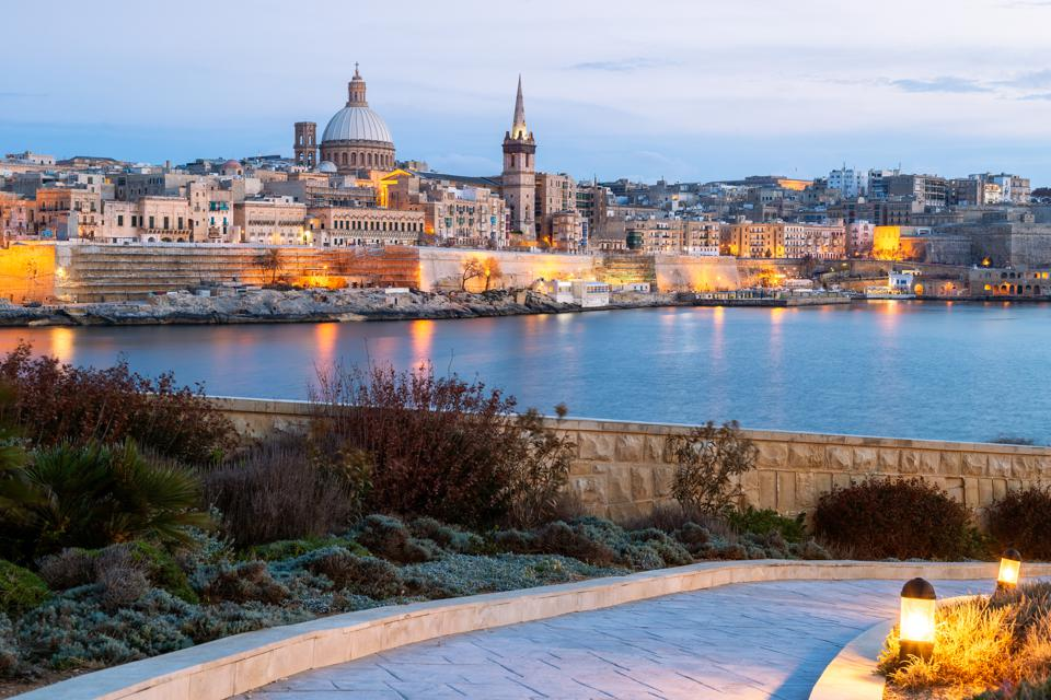 Skyline, Valletta, Malta second passport citizenship