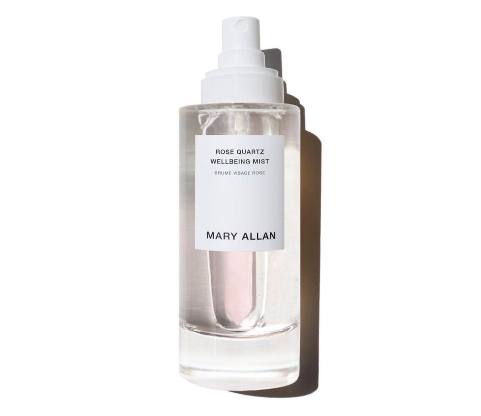 Mary Allan Rose Quartz Wellbeing Mist