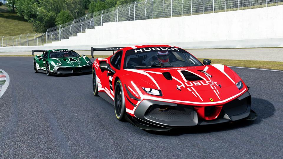 Ferrari 488 Challenge Evo in Assetto Corsa