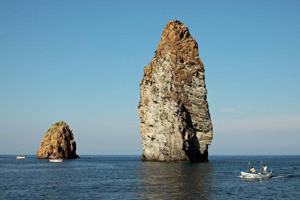 Faraglioni rocks formation - Aeolian Islands