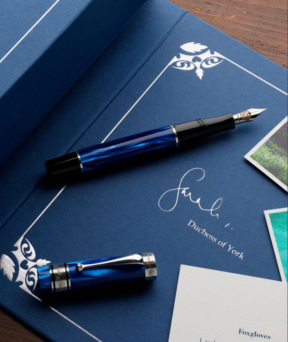 Montegrappa's limited edition Ocean fountain pen.