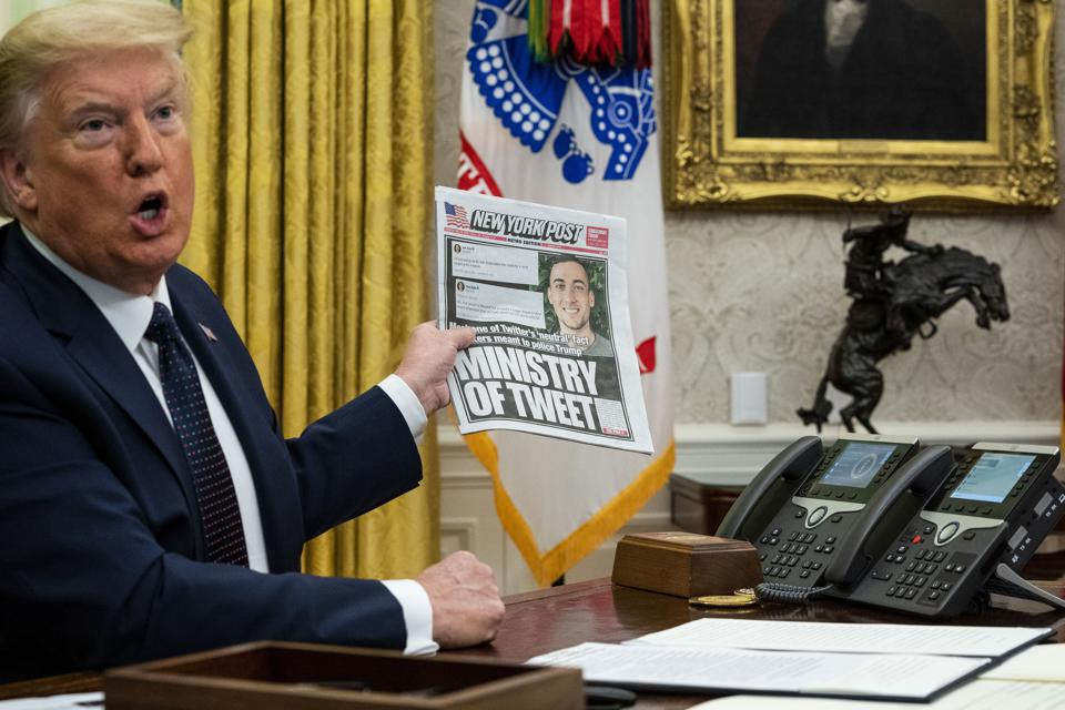 President Trump Issues Executive Order Against Social Media Companies