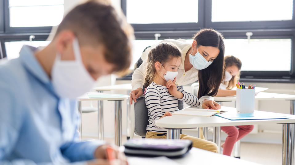 In-Person, Mask-Free Classes: Some Schools About To Resume Despite ...
